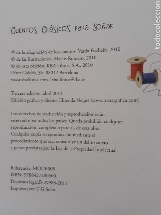 Tebeos: CUENTOS CLASICOS PARA SOÑAR - ILUSTRACIONES MACU ROMERO - EDITORIAL MOLINO - Foto 3 - 178111107