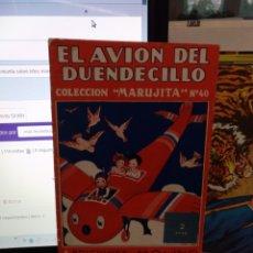 Tebeos: EL AVIÓN DEL DUENDECILLO, EDICIONES MOLINO 1954. Lote 182503685