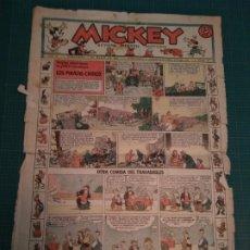 Tebeos: MICKEY - REVISTA INFANTIL ILUSTRADA - Nº 53 - 7 MARZO 1936. Lote 183260703