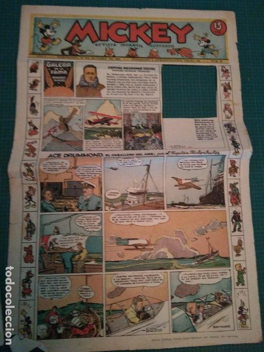 Tebeos: MICKEY - REVISTA INFANTIL ILUSTRADA - Nº 32 - BARCELONA 12 OCTUBRE 1935 - Foto 4 - 183267458