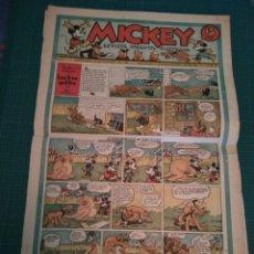 Tebeos: MICKEY - REVISTA INFANTIL ILUSTRADA - Nº 32 - BARCELONA 12 OCTUBRE 1935. Lote 183267458