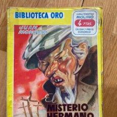 Tebeos: BIBLIOTECA ORO EL MISTERIO DEL HERMANO FANTASMA NÚMERO 145. Lote 187078778