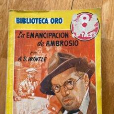 Tebeos: BIBLIOTECA ORO LA EMANCIPACIÓN DE AMBROSIO NÚMERO 234. Lote 187079261