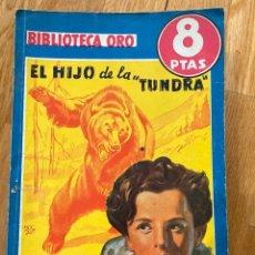 Tebeos: BIBLIOTECA ORO EL HIJO DE LA TUNDRA NÚMERO 252. Lote 187079385