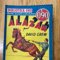Tebeos: BIBLIOTECA ORO ALAZAN NÚMERO I-33. Lote 187079757