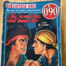 Tebeos: BIBLIOTECA ORO LA SOMBRA DEL MUERTO NÚMERO I-42. Lote 187079858