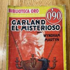 Tebeos: BIBLIOTECA ORO GARLAND EL MISTERIOSO NÚMERO III-11. Lote 187080498