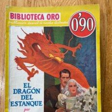 Tebeos: BIBLIOTECA ORO EL DRAGON DEL ESTANQUE NÚMERO III-6 S S VAN DINE. Lote 187080551