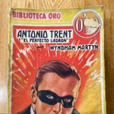 Tebeos: BIBLIOTECA ORO ANTONIO TRENT NÚMERO III-2. Lote 187080652