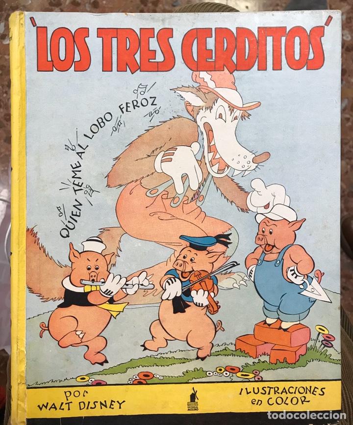 LOS TRES CERDITOS (Tebeos y Comics - Molino)