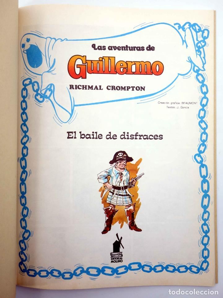 Tebeos: LAS AVENTURAS DE GUILLERMO 2. EL BAILE DE DISFRACES. ÉXITO EN TELEVISIÓN (Beaumont) 1980. OFRT - Foto 3 - 190977023