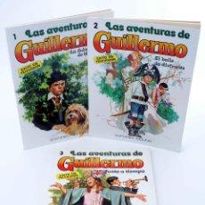 Tebeos: LAS AVENTURAS DE GUILLERMO 1 2 3. COMPLETA. ÉXITO EN TELEVISIÓN (BEAUMONT / J. GARCÍA) 1980. OFRT. Lote 190977041