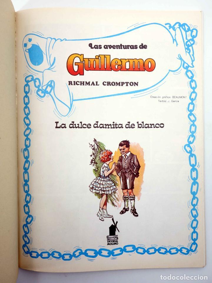Tebeos: LAS AVENTURAS DE GUILLERMO 1. LA DULCE DAMITA DE BLANCO. ÉXITO EN TELEVISIÓN (Beaumont) 1980. OFRT - Foto 3 - 190977051