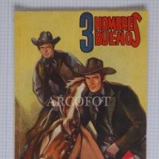 Tebeos: COLECCIÓN HOMBRES AUDACES 3 HOMBRES BUENOS - EL NAIPE FATAL EDITORIAL MOLINO 1947 LA DE LAS FOTOS. Lote 191685638