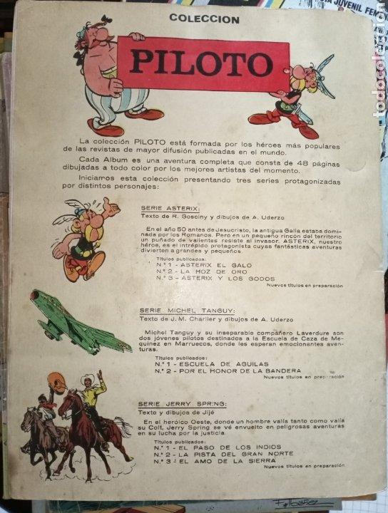Tebeos: La colección Piloto Tanguy Por el honor de la bandera - Foto 2 - 193316848