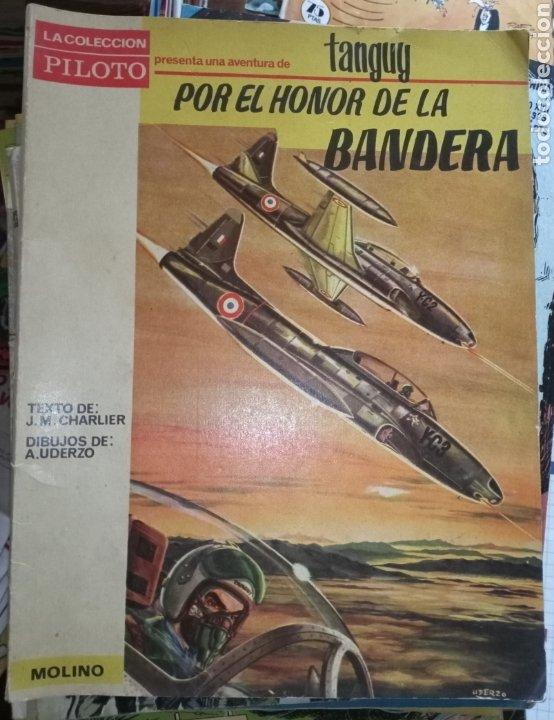 LA COLECCIÓN PILOTO TANGUY POR EL HONOR DE LA BANDERA (Tebeos y Comics - Molino)