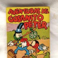 Tebeos: AVENTURAS DEL GUSANITO PETER WALT DISNEY AÑO 1937. EDITORIAL MOLINO, TAPA RUSTICA 160 PAG.. Lote 193960735