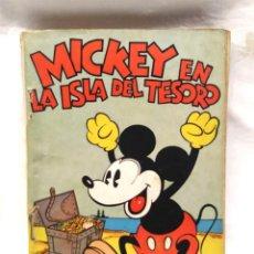 Tebeos: MICKEY EN LA ISLA DEL TESORO WALT DISNEY AÑO 1934. EDITORIAL MOLINO, TAPA RUSTICA 160 PAG.. Lote 193961187