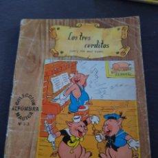 Livros de Banda Desenhada: LOS TRES CERDITOS 1965 EDICION EL MOLINO. Lote 199746487