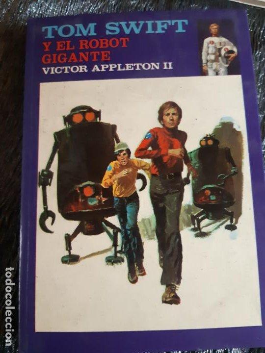 TOM SWIFT. Y EL RATON GIGANTE.VICTOR SPPELTON 11, EDITORIAL MOLINO (Tebeos y Comics - Molino)