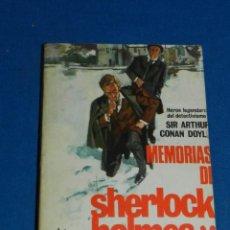 Tebeos: (M) ARTHUR CONAN DOYLE - MEMORIAS DE SHERLOCK SHOLMES N.243, EDT MOLINO. Lote 204191606