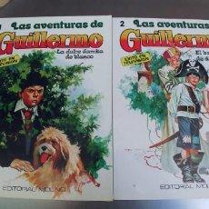 Tebeos: LAS AVENTURAS DE GUILLERMO NUMEROS 1 Y 2,EDICIONES MOLINO 1980. Lote 204710498