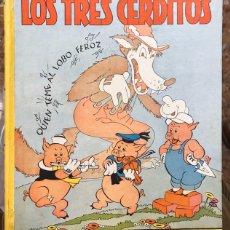 Tebeos: LOS TRES CERDITOS. Lote 205116382