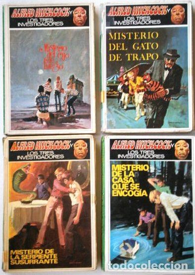 Tebeos: Colección 7 Libros de Misterio Juvenil / Alfred Hitchcock y los tres investigadores / Ed. Molino - Foto 4 - 207654127