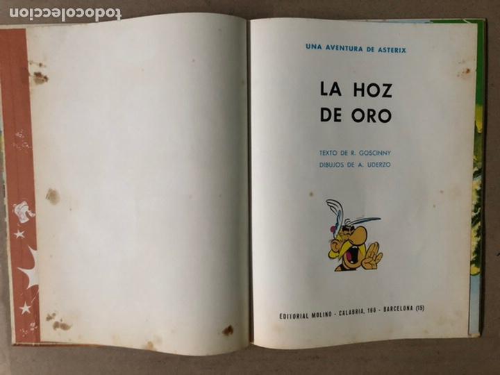 Tebeos: ASTERIX. LA HOZ DE ORO. UDERZO Y GOSCINNY. EDITORIAL MOLINO 1966. - Foto 3 - 211614791