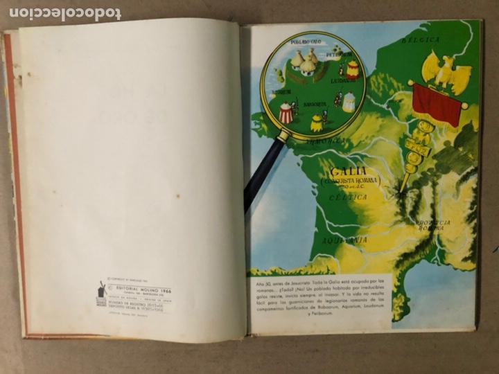 Tebeos: ASTERIX. LA HOZ DE ORO. UDERZO Y GOSCINNY. EDITORIAL MOLINO 1966. - Foto 4 - 211614791
