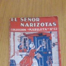 Tebeos: CUENTO COLECCION MARUJITA-EL SEÑOR NARIZOTAS 1935. Lote 213167675