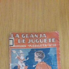 Tebeos: CUENTO COLECCION MARUJITA-LA GRANJA DE JUGUETE 1934. Lote 213168615