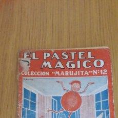 Tebeos: CUENTO COLECCION MARUJITA-EL PASTEL MAGICO 1934. Lote 213169123