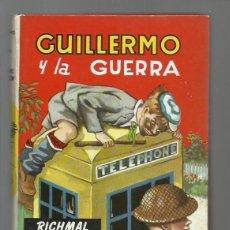 Giornalini: GUILLERMO 27: GUILLERMO Y LA GUERRA, 1965, MOLINO, MUY BUEN ESTADO. COLECCIÓN A.T.. Lote 213949967