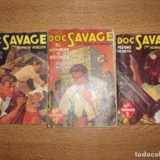 Livros de Banda Desenhada: DOC SAVAGE LOTE DE 3 NUMEROS.. Lote 214746736