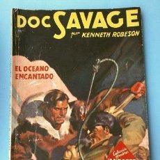 Tebeos: DOC SAVAGE Nº 43 EL OCEANO ENCANTADO (1947) COL. HOMBRES AUDACES, NUEVOS HEROES ED. MOLINO. Lote 215910788