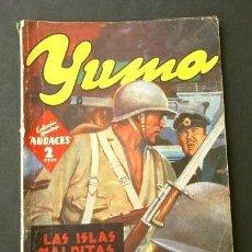 Tebeos: YUMA Nº 37 LAS ISLAS MALDITAS (1945) COL. HOMBRES AUDACES, NUEVOS HEROES ED. MOLINO. Lote 215911261