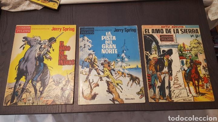 JERRY SPRING - EL PASO DE LOS INDIOS, LA PISTA DEL GRAN NORTE, EL AMO DE LA SIERRA - MOLINO -PILOTO (Tebeos y Comics - Molino)