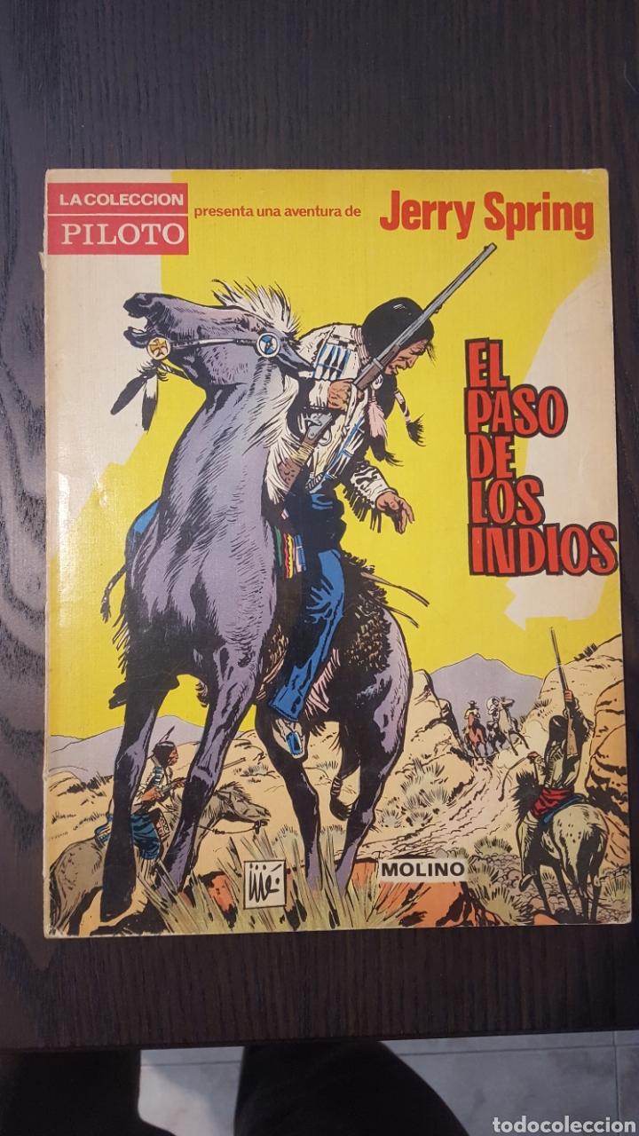 Tebeos: Jerry Spring - El paso de los indios, La pista del gran norte, El amo de la sierra - Molino -Piloto - Foto 2 - 213782681