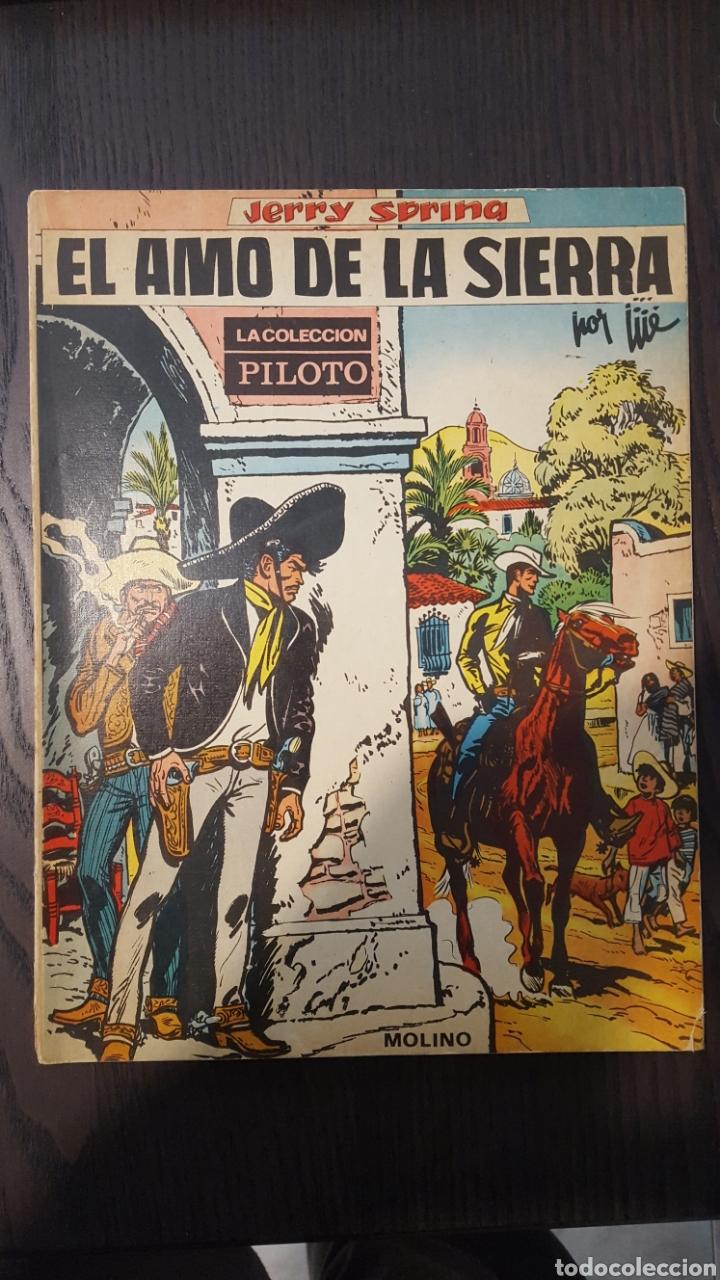 Tebeos: Jerry Spring - El paso de los indios, La pista del gran norte, El amo de la sierra - Molino -Piloto - Foto 10 - 213782681