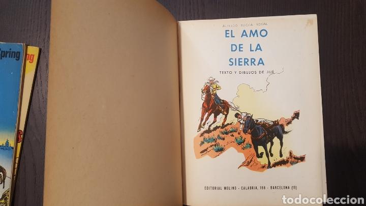 Tebeos: Jerry Spring - El paso de los indios, La pista del gran norte, El amo de la sierra - Molino -Piloto - Foto 11 - 213782681