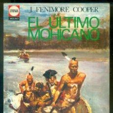 Tebeos: NUMULITE * EL ÚLTIMO MOHICANO J. FENIMORE COOPER CLÁSICOS JUVENILES EDITORIAL MOLINO. Lote 227724740