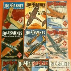 Tebeos: LOTE BILL BARNES 10 NUMEROS (1939-47) COL. HOMBRES AUDACES - ED. MOLINO. Lote 230245335