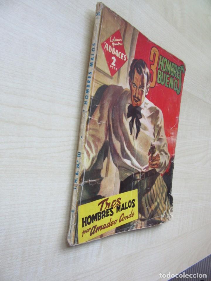 Tebeos: Tres Hombres malos de Amadeo Conde de la serie Tres hombres buenos Ed. Molino 1945 Ver descripción - Foto 2 - 234836005