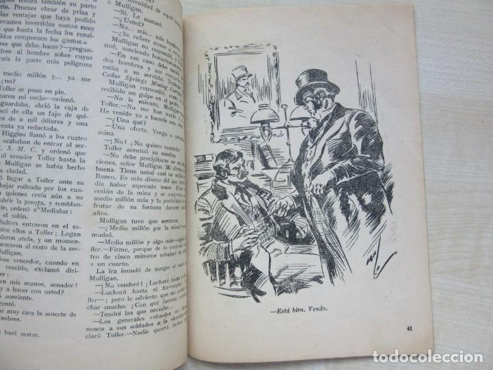 Tebeos: Tres Hombres malos de Amadeo Conde de la serie Tres hombres buenos Ed. Molino 1945 Ver descripción - Foto 5 - 234836005