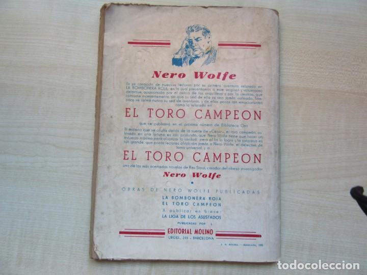 Tebeos: La cerbatana china Erle Stanley Gardner Edit. Molino 1944 Ver descripción - Foto 8 - 234842205