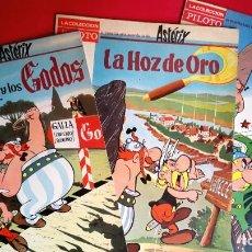 Livros de Banda Desenhada: ASTERIX - MOLINO - TAPA BLANDA - 3 NÚMEROS - COMPLETA. Lote 258761475