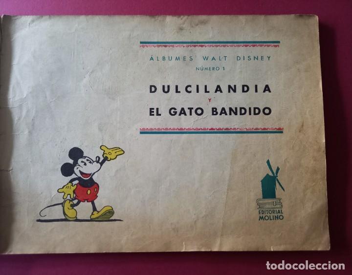 Tebeos: ALBUMES WALT DISNEY Nº 1 -AÑO 1935 -EDITORIAL MOLINO -MEDIDAS :22 x30 CMS - Foto 3 - 260545075