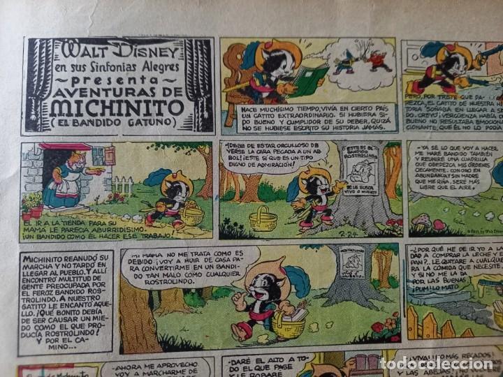 Tebeos: ALBUMES WALT DISNEY Nº 1 -AÑO 1935 -EDITORIAL MOLINO -MEDIDAS :22 x30 CMS - Foto 5 - 260545075