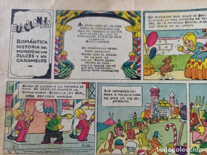 Tebeos: ALBUMES WALT DISNEY Nº 1 -AÑO 1935 -EDITORIAL MOLINO -MEDIDAS :22 x30 CMS - Foto 6 - 260545075